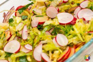 Cruncy Radish Salad
